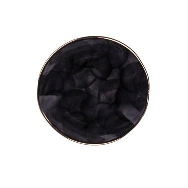 Marianna Bulut Tatlı Tabağı Siyah Siyah